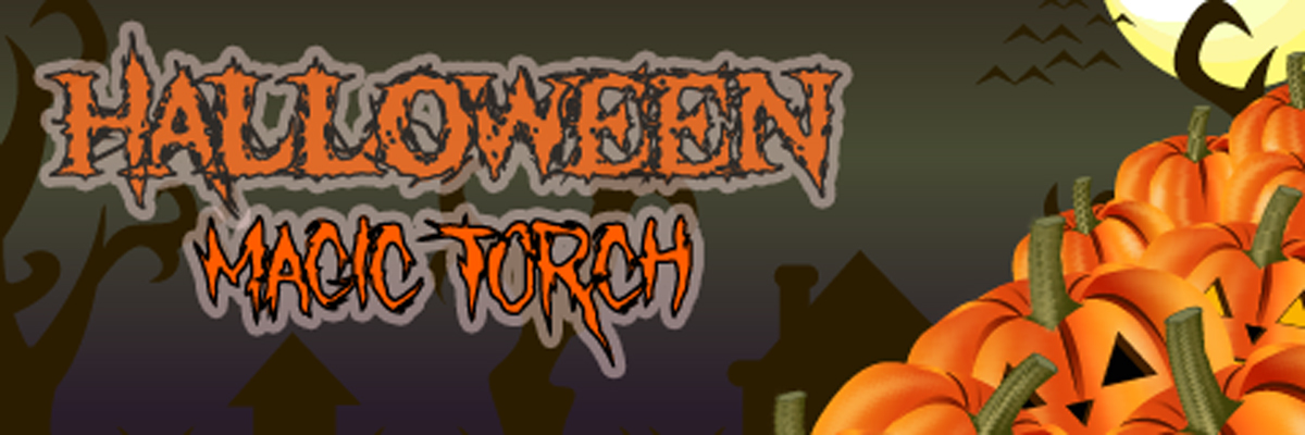 Halloween magic torch