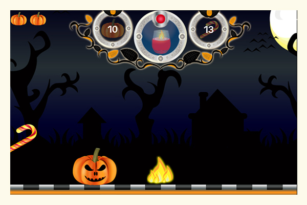 Halloween magic torch in-game